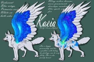 KAEIA [reference sheet] by LupusAzulli
