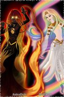Talona and Phoebe - Infernal Radiance by T1p2