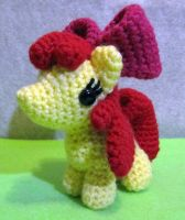 Chibi Apple Bloom by NerdyKnitterDesigns