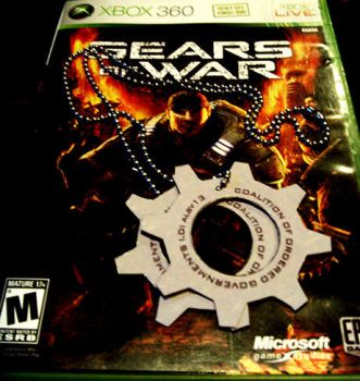 Gears of War - COG Tags by alby13