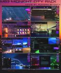 M83 Midnight City Theme for Windows 7 by poweredbyostx