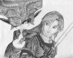 Link and Midna by jayyx3