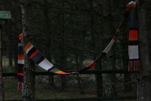 Fourth Doctor Scarf by fulguris