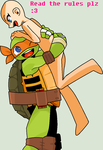 TMNT Base: Huggy From Mikey by animelover276