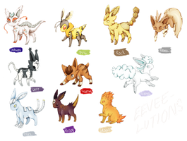 GOTTA EVOLVE THEM ALL by FilthyLandlubber
