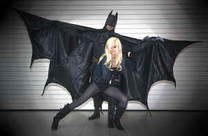 Batman and Black Canary by Neo-Jackal