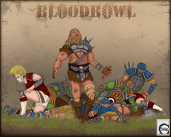 Bloodbowl Wallpaper by soloeffect
