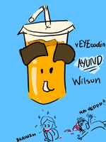 vEYEcodin and wilsun smoothie by AquaticFishy