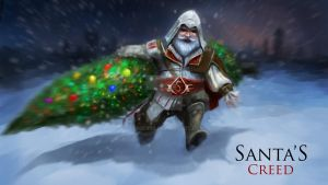 Santa's creed by Perseass