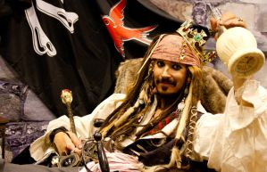 Captain Jack Sparrow - POTC by Wolfenheim84