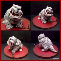 Bandersnatch Sculpture - Alice in Wonderland by buzhandmade