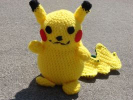Pikachu by cRochat-Creations