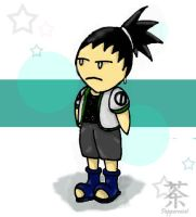 Chibi Shikamaru. by Peppermint-Tea