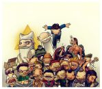 Al Grito Characters by thecarlosmal