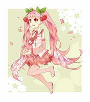 Sakura Miku by JasmineBlossoms