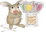 Bunny-happy-pops by Just4Cheri