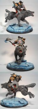 Space Wolves: Wolve Rider by TheBl4ckCat