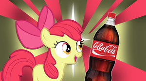 What Do Ponies Drink? - Applebloom by 4Suit
