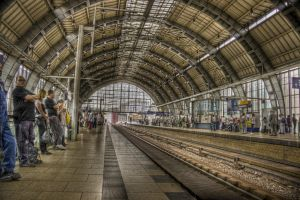 Berlin Alexanderplatz station by Ditze