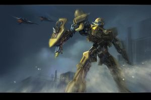 Transformers_BEE by godforget