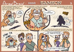 arien brain: samson page3 by therealarien