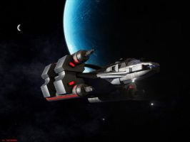 Gladius Class Destroyer by ILJackson