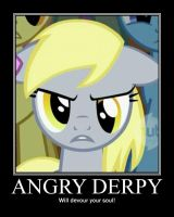 Angry Derpy by wrathe64