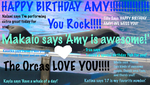 Happy Birthday Amy!!! by futureshamutrainer