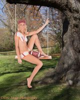Vt Uniform on a Swing by fineimagephotography