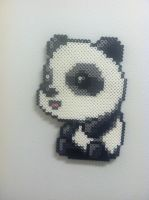 Maplestory Panda - Perler Art by Brentimous