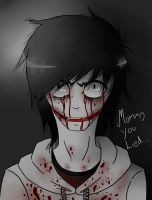 Jeff the killer-Mommy you lied... by IchiroChan