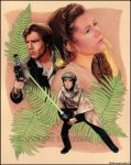 STAR WARS: Heroes on Endor by MJasonReed