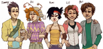 The rest of the rugrats by Leerer-Raum