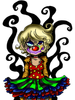 Some Clowns aren't Nice by Honey-Bea