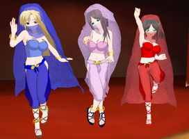 Sunao cool princess girls belly Dancer by quamp