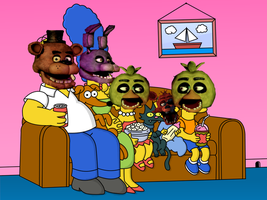 Five Nights at the Simpsons by FreddyTheFazbear