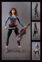 lindsey stirling - custom figure by nightwing1975