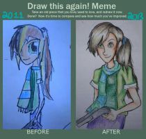 Draw Again Meme by abstractcat17