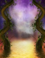 Fairyland Gate by oldhippieart