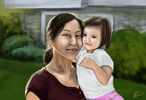 Mommy and Me by Jinny527