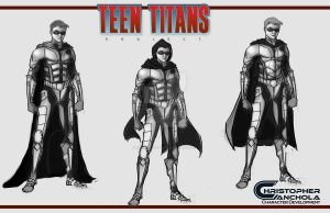 TEEN TITANS PROJECT FAN FILM (RobinIII concept ar) by shakalegend