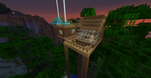 Minecraft: Tree House by SleekHusky
