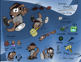 Character Profile: Kenny Wombat by kennywombat