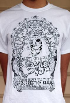 ressurection elixir t-shirt by bailey--elizabeth
