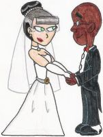 A Fillmore+Ingrid Wedding Pic by nintendomaximus