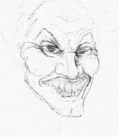 Joker Sketch by Panistheman