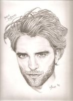 Robert Pattinson by AhdiasAndI