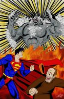 Superman vs. Doomsday by TommyEddy83