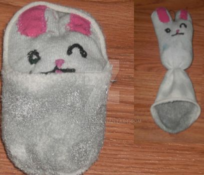 Sock Bunny by wave3girl