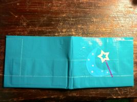 Trixie Cutie Mark Duct Tape Wallet by craftybrony